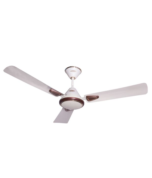 Oscar 48 Glam S Ceiling Fan Pearl Ivory Hd Brown
