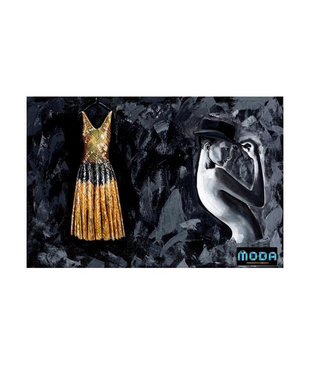 Studio Moda Black Wedding Diaries Painting