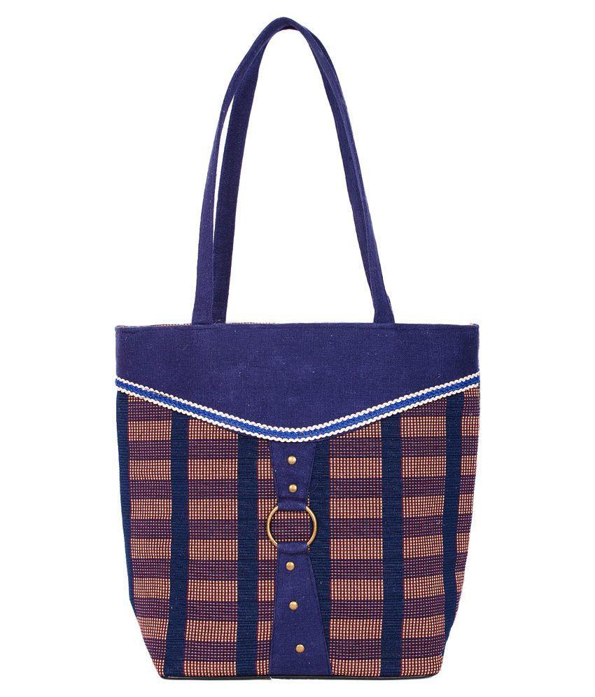 Ijay Fashion Blue Shoulder Bag