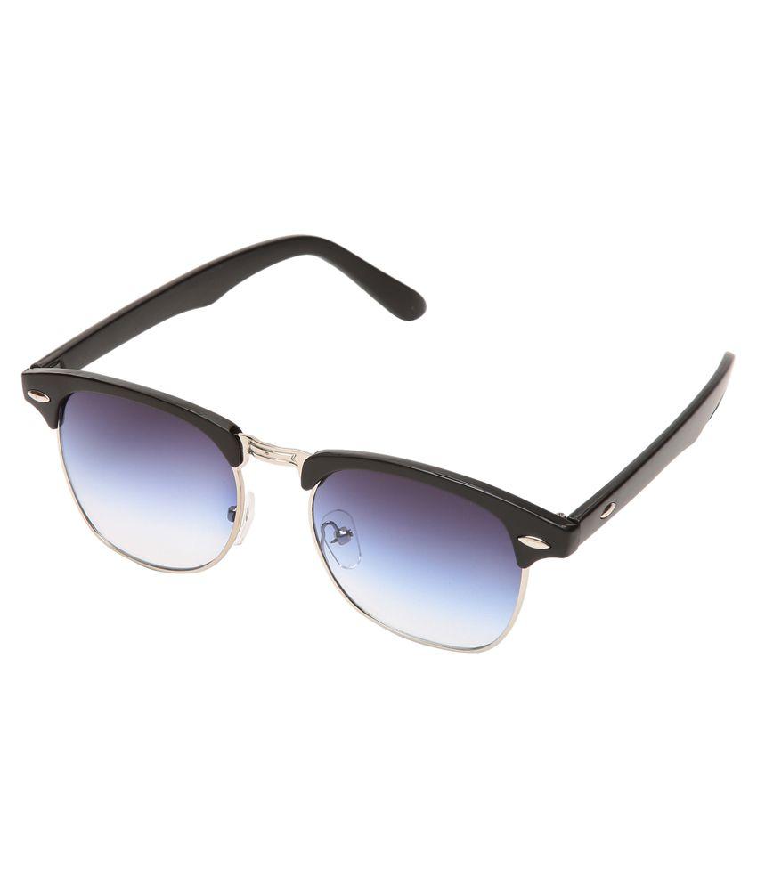 Prime Club Blue & Black Clubmaster Sunglasses