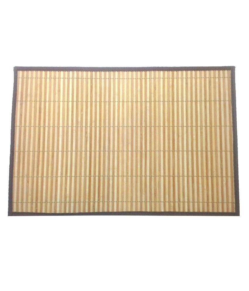 Brown Bamboo Stick ~ Bamboo greens cream and natural brown sticks