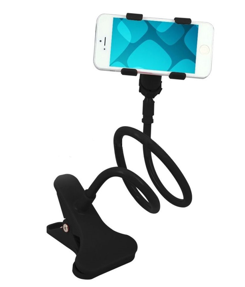 Flexible Long Arm Car Mobile Phone Holder for All Cars  amp; Home Use