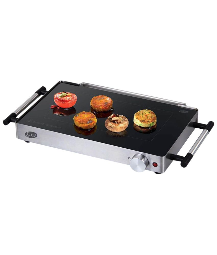 Glen gl 3035 800 watts electric grill price in india buy for B kitchen glass grill