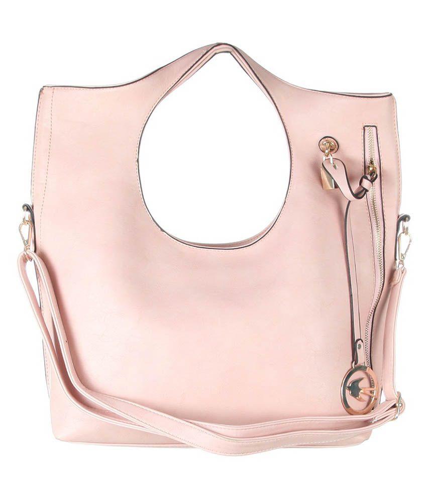 Aliza Pink Shoulder Bag