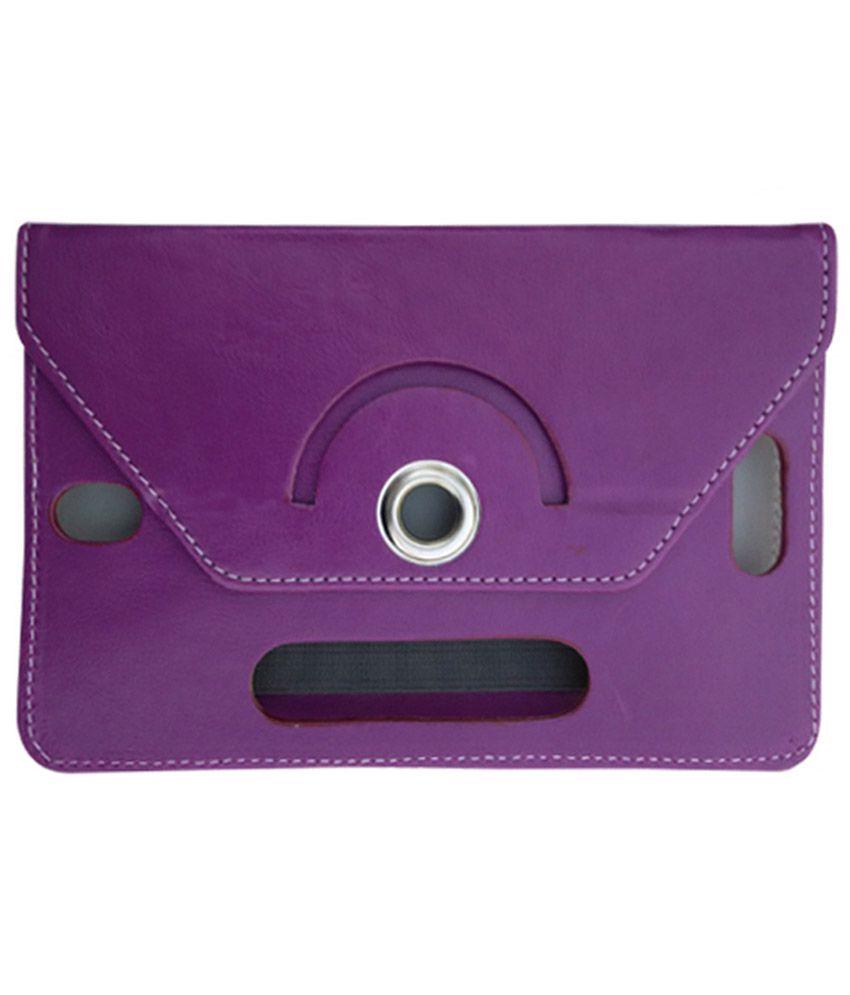 Fastway Flip Cover For Vodafone Smart Tab III 7 -Purple