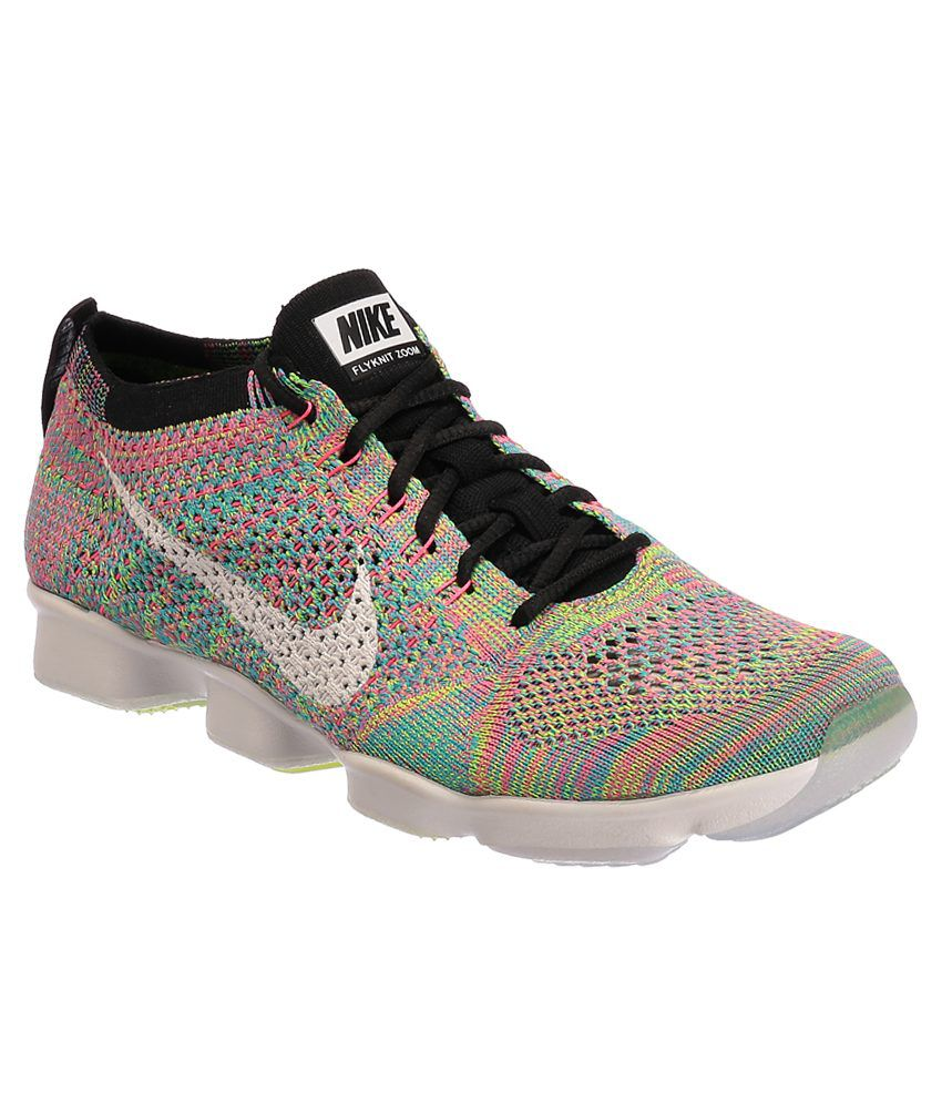 1a70eef1311a Nike Flyknit Zoom Agility Multi Colour Sports Shoes Price in India- Buy Nike  Flyknit Zoom Agility Multi Colour Sports Shoes Online at Snapdeal