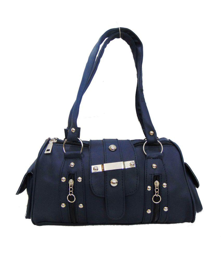 Estoss Blue P.u. Shoulder Bag