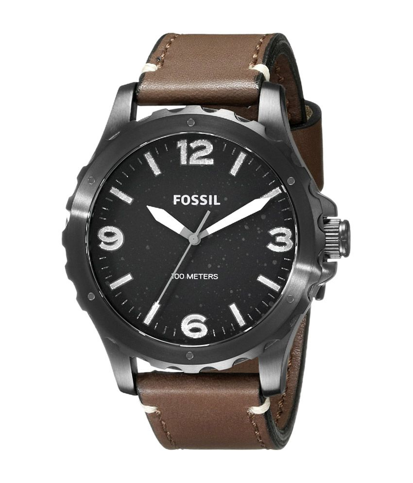 Fossil Brown Dial Men's Analog Watch