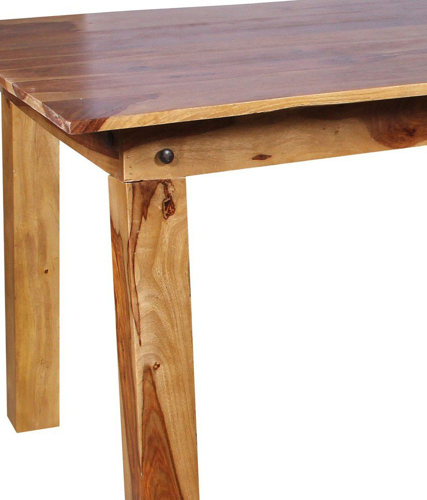 Buy Dining Table Online: Roy Sheesham Wood Dining Table