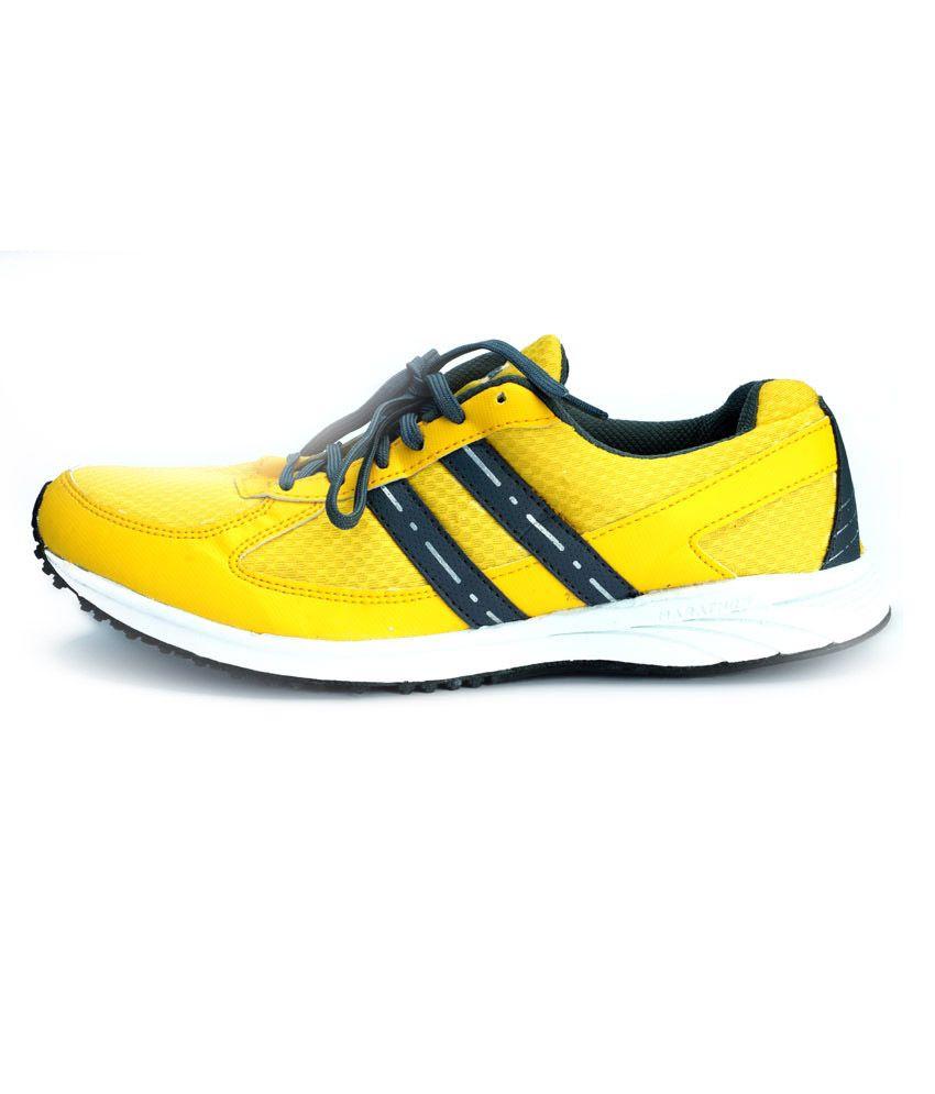 dcf8b1d81b Sega Yellow Sports Shoes - Buy Sega Yellow Sports Shoes Online at ...