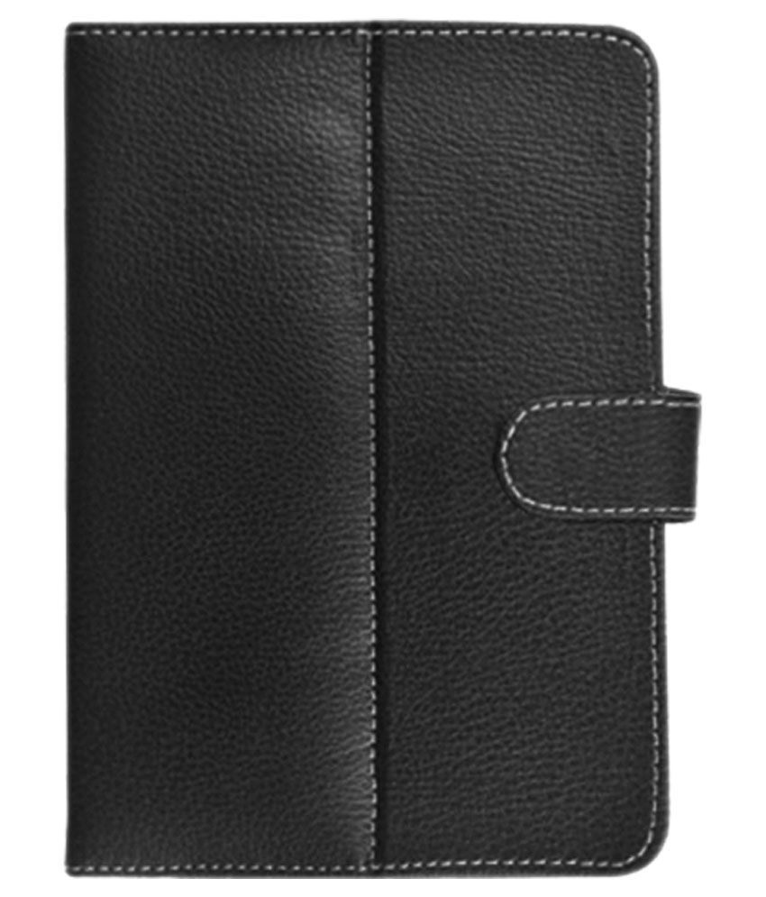 Fastway Flip Cover For Lenovo A7-30 A3300 - Black