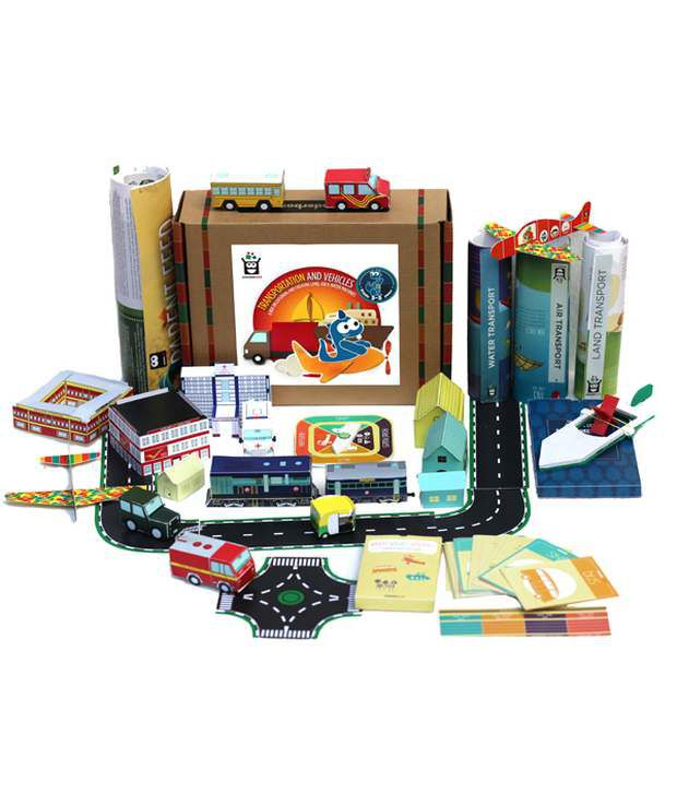 Wonderboxx Hard Paper Transportation And Vehicles