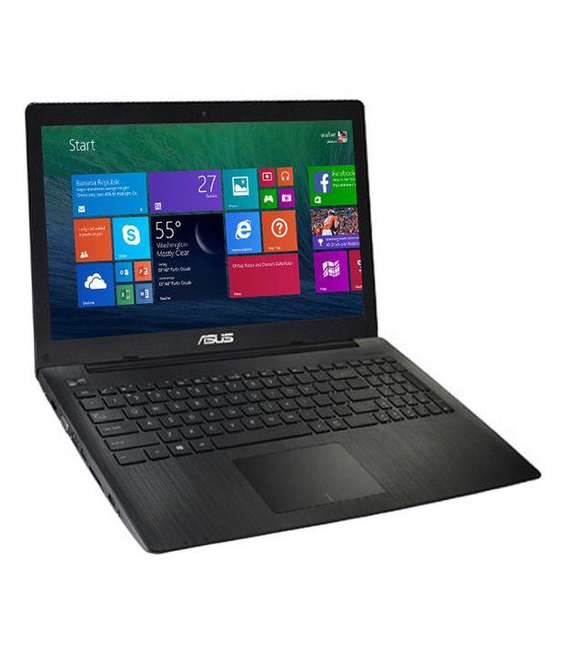 Asus X553MA-XX289B Notebook (Intel Celeron- 2GB RAM- 500GB HDD- 39.62cm (15.6)- Windows 8.1 Bing) (Black)