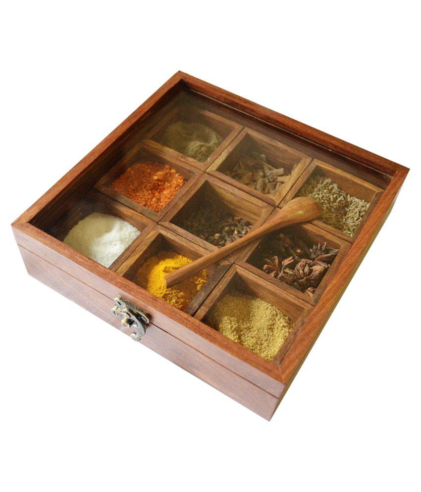masala box, spice box, spices