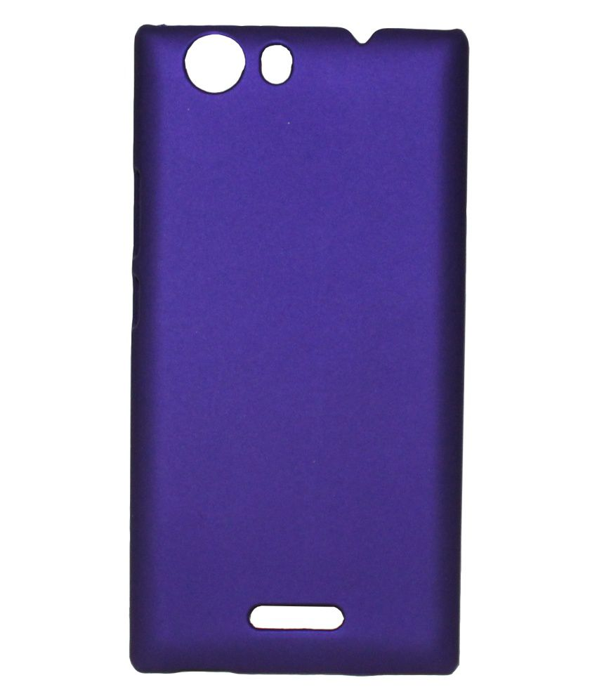 timeless design be735 be558 Fcs Back Cover For Micromax Canvas Nitro 2 E311 - Purple