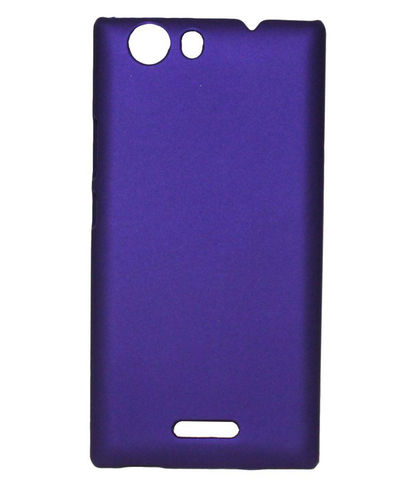 timeless design 83190 cee51 Fcs Back Cover For Micromax Canvas Nitro 2 E311 - Purple