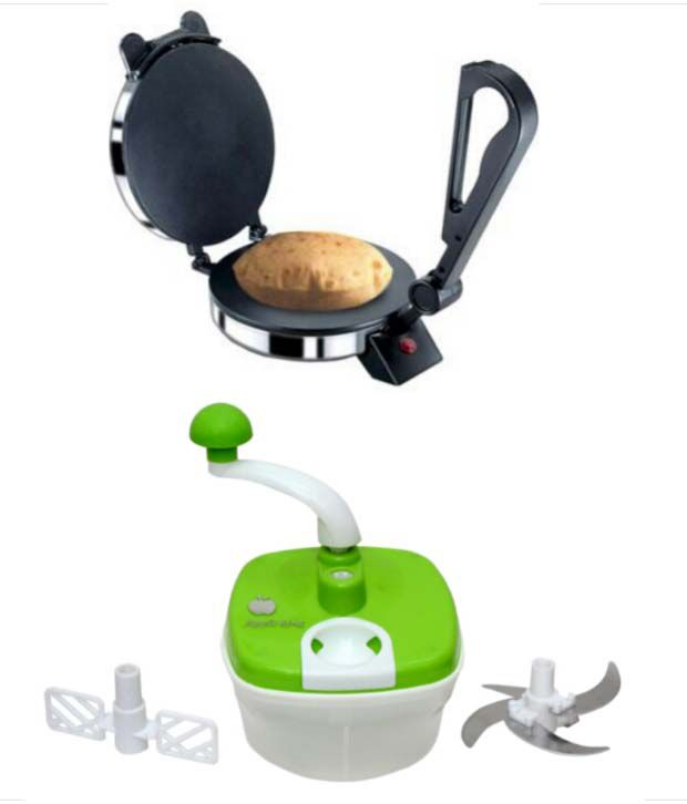 Green Home Roti Maker Silver