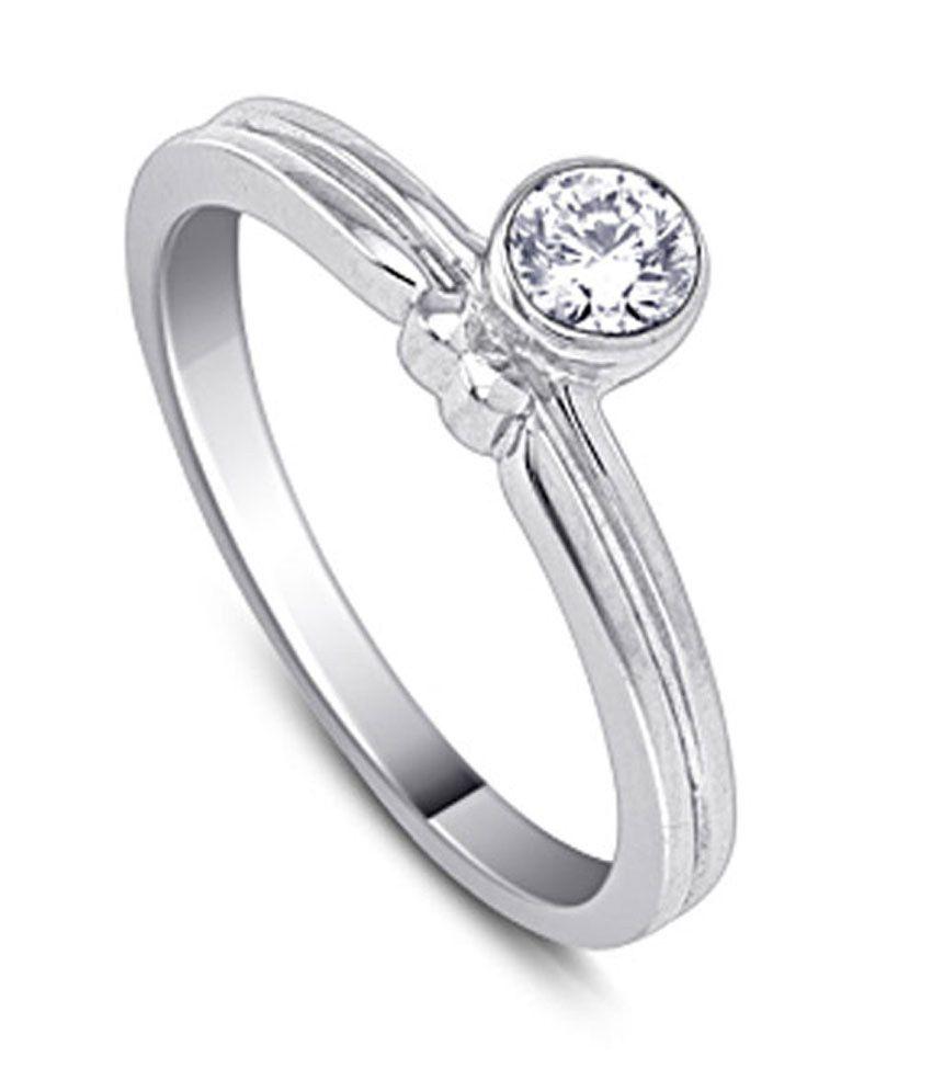 HSK IGI Certified 9k Gold Diamond Cascading Cadence Ring