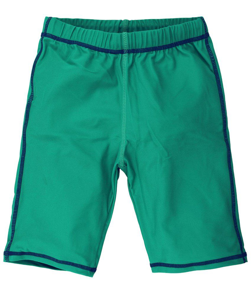 Oye Sea Green Swimming Shorts for Boys/ Swimming Costume