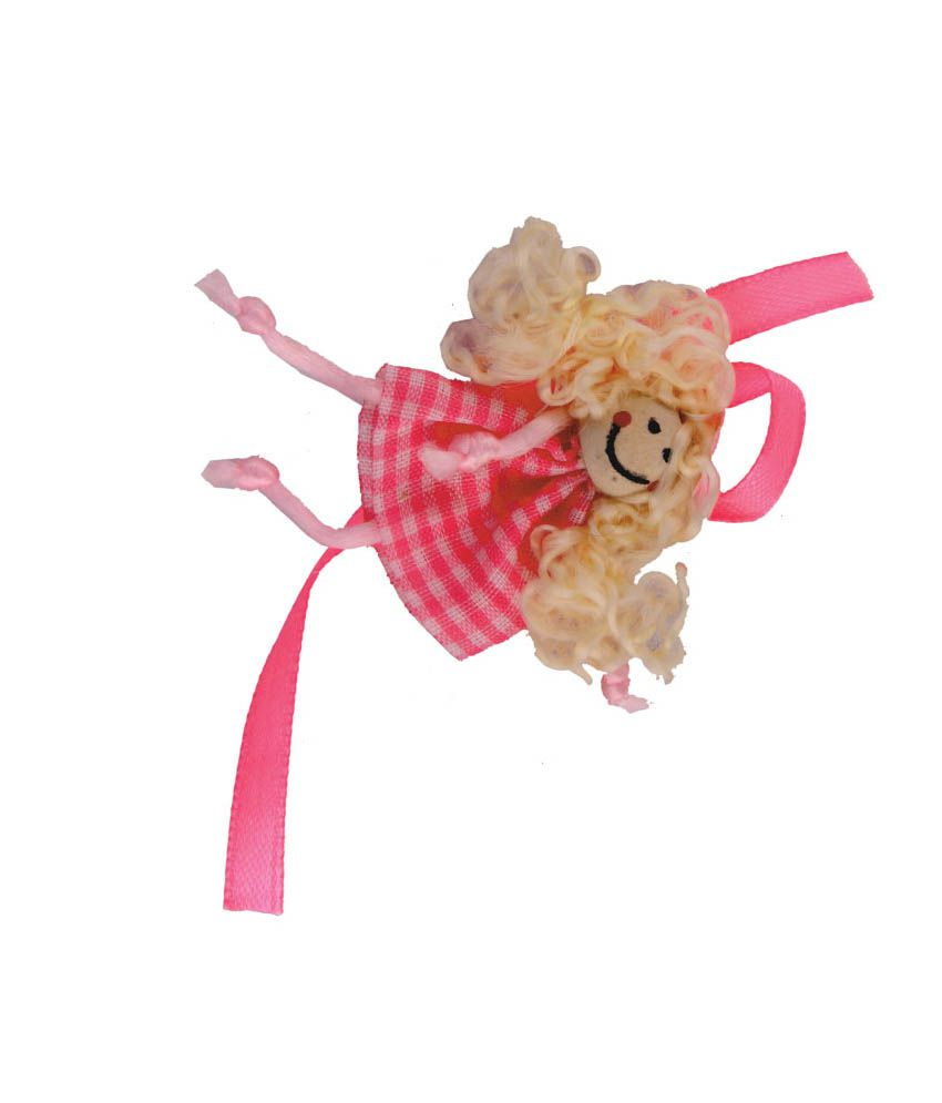 Send Rakhi Send Rakhi Multicolor Fabric Baby Doll Kids Rakhi
