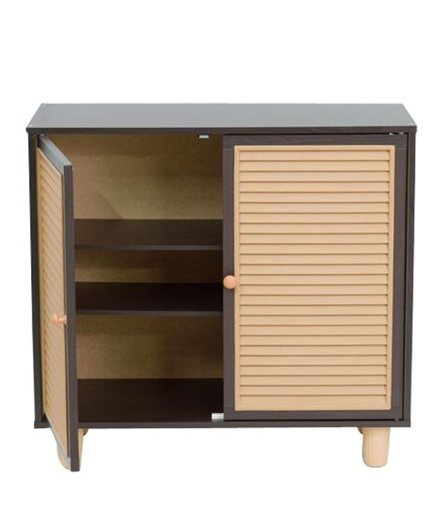 Eon 2 Door Shoe Cabinet in Black - Buy Eon 2 Door Shoe Cabinet in ...