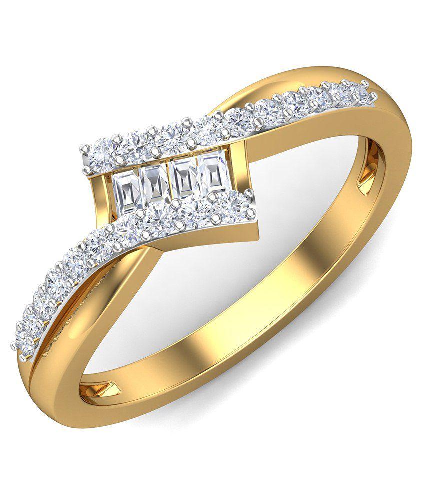 Diaashi 18kt Gold Ring