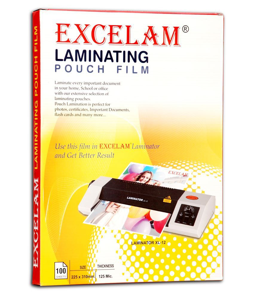 Excelam A4 Size Micron Laminator Film Buy Online At Best Price On