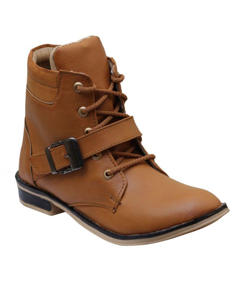 Fostelo Tan Boots