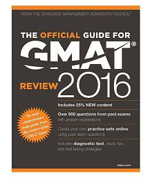 The Official Gmat Guide 2016 Paperback (English)