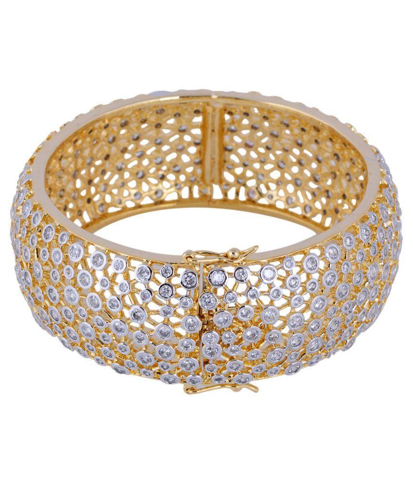 Chaahat Fashion Jewellery Golden Copper Bracelet
