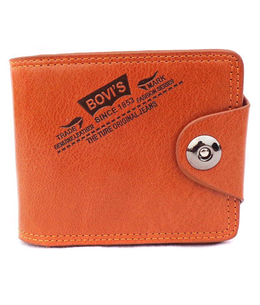 Bovis Orange Regular Wallet
