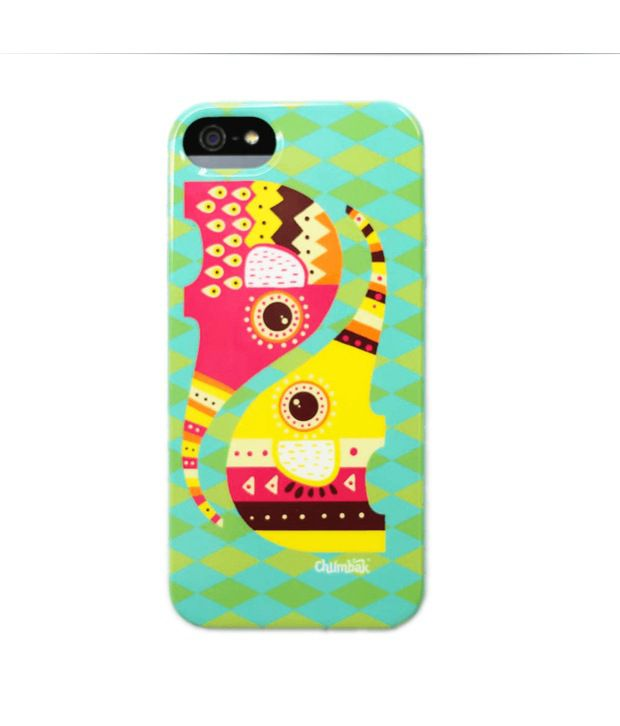 new product dfdb6 9f4b3 Chumbak Multicolor Back Cover For Apple Iphone 5