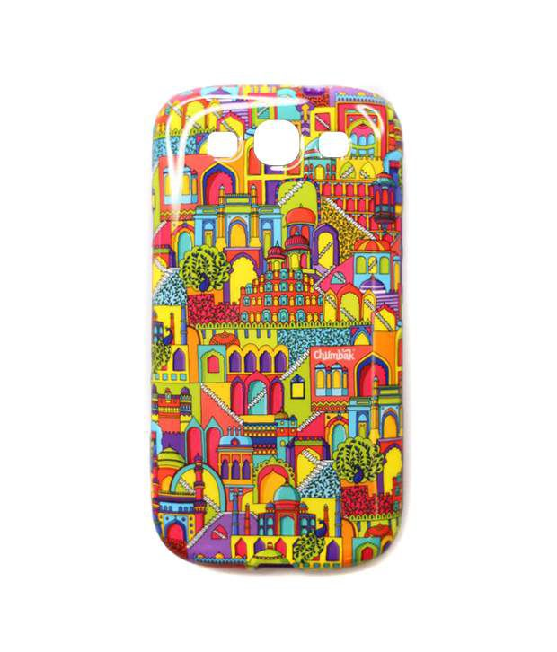 online store 24d3f eaa26 Chumbak Multicolor Back Cover For Samsung Galaxy S3 - Printed Back ...