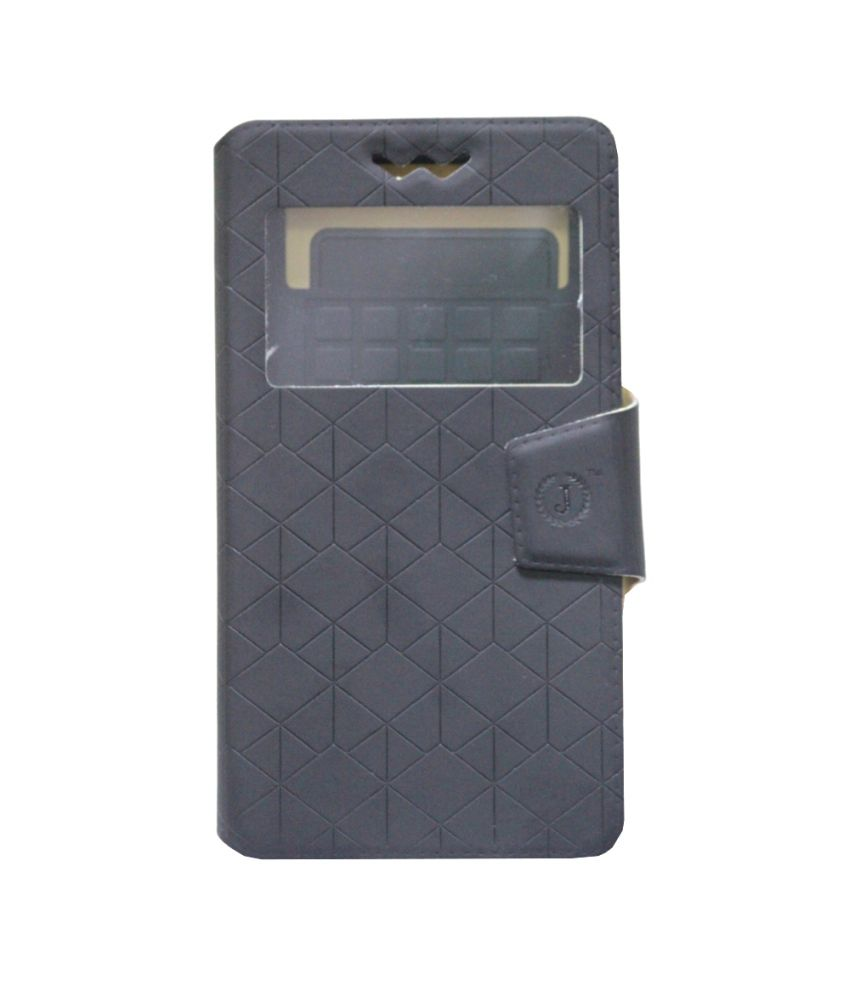 Jo Jo Flip Cover For Philips W6350 Black