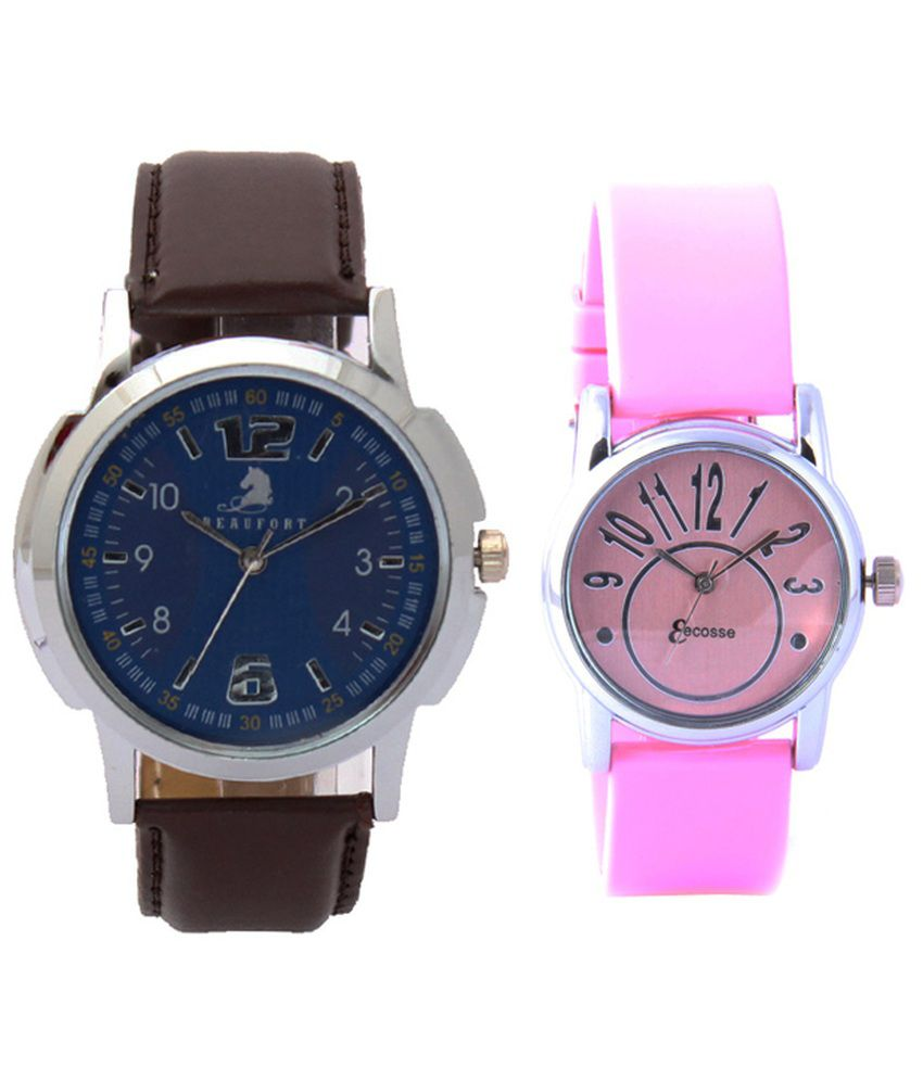 Beaufort Blue Analog Casual Watches For Both Men And Women