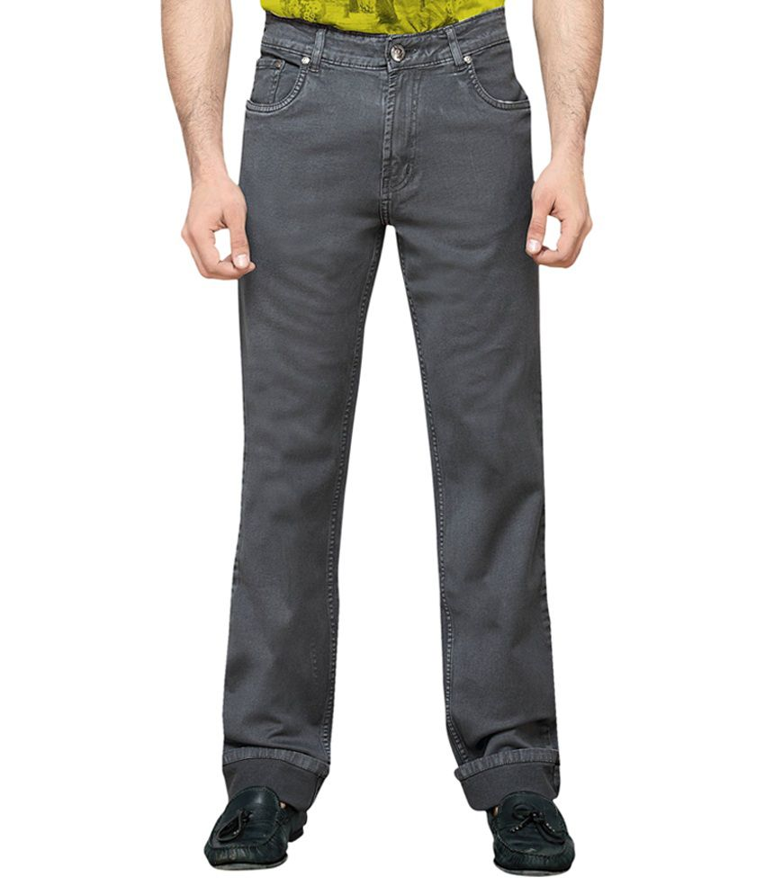 Dragaon Jeans Gray Regular Fit Jeans