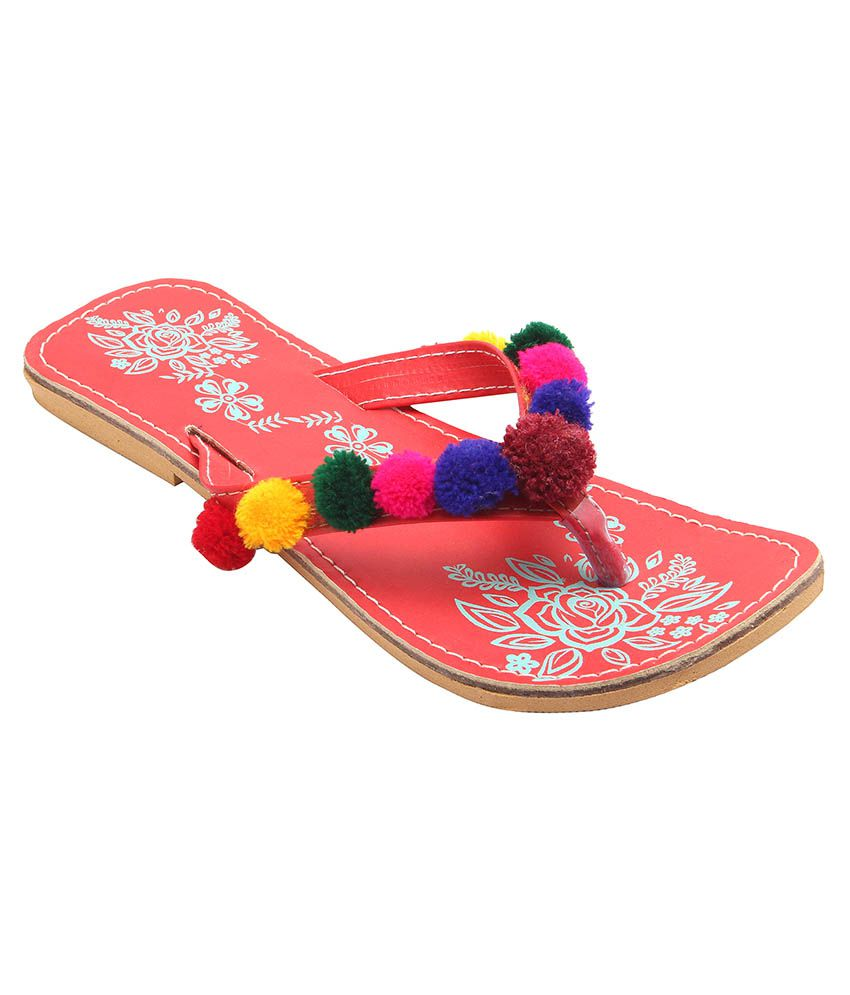 Royal Collection Multicolor Flats