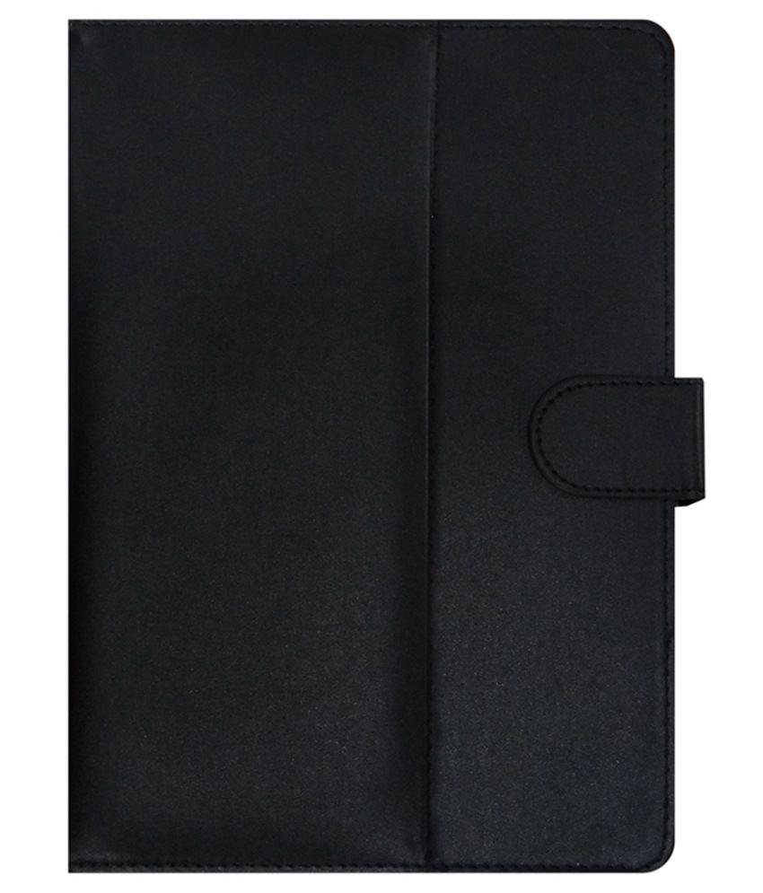 ACM Flip Case For Iball Slide 6318i - Black