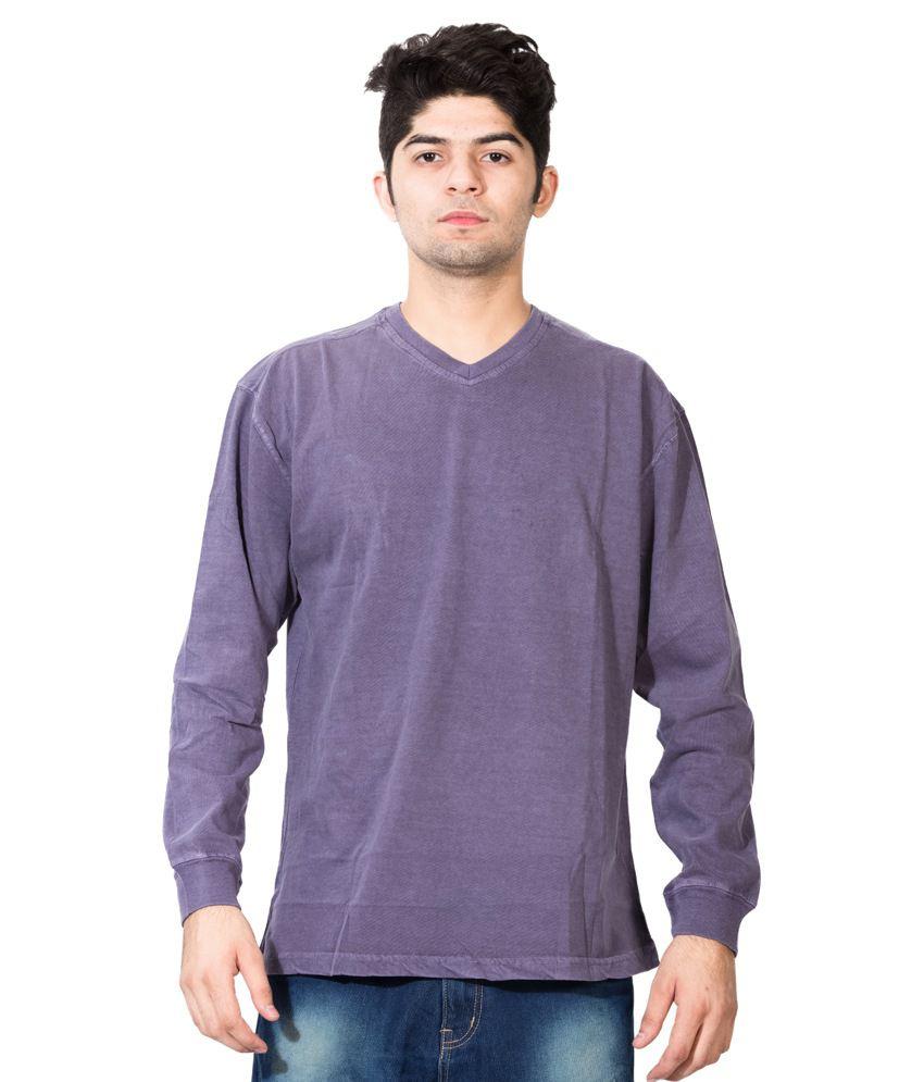 Dream of Glory Purple Cotton T-Shirt