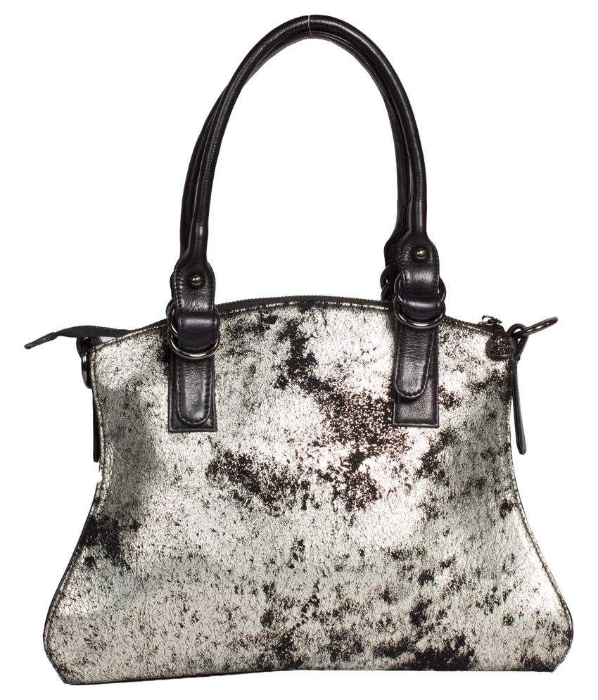 Rosy Rose Multicolor Leather Handbag
