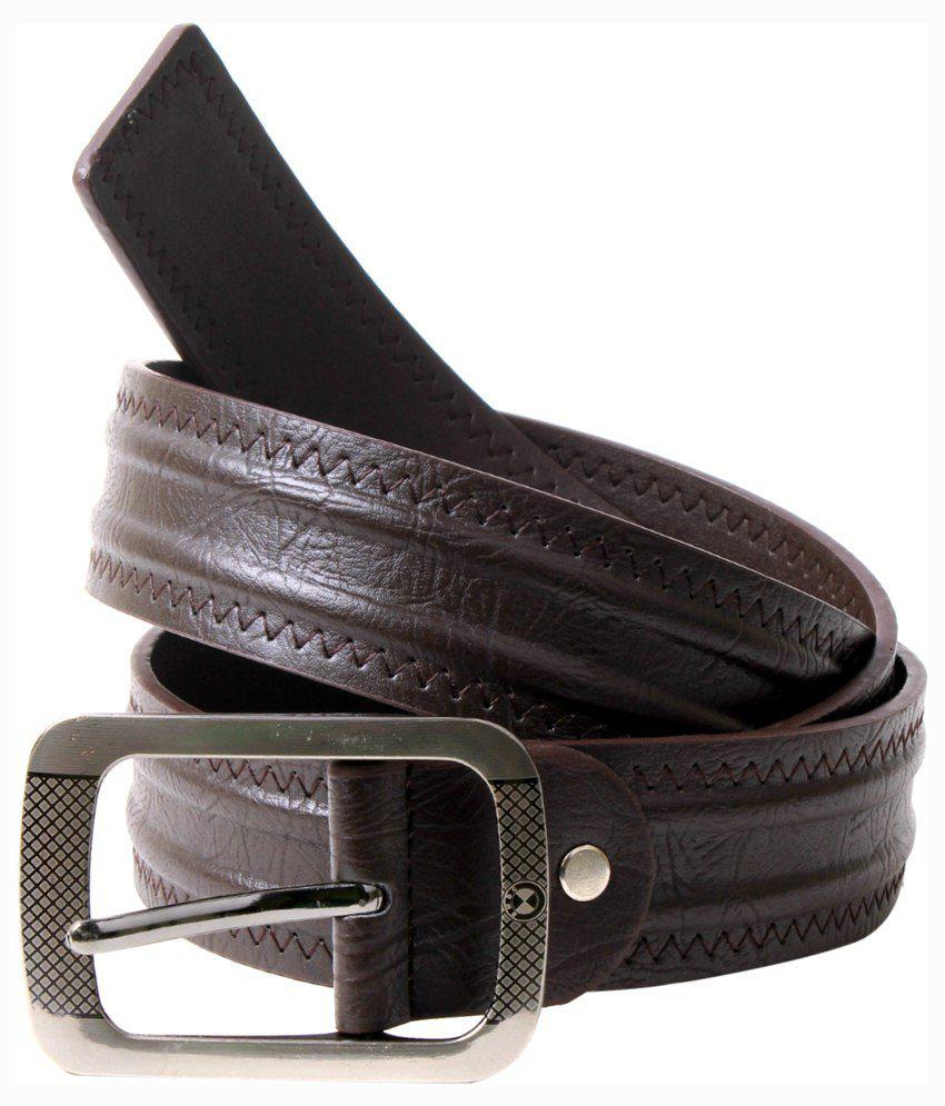 BMF Brown Leather Belt