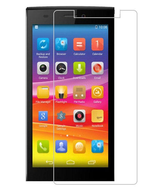 JNF Tempered Glass Screen Guard for 9H Micromax E311
