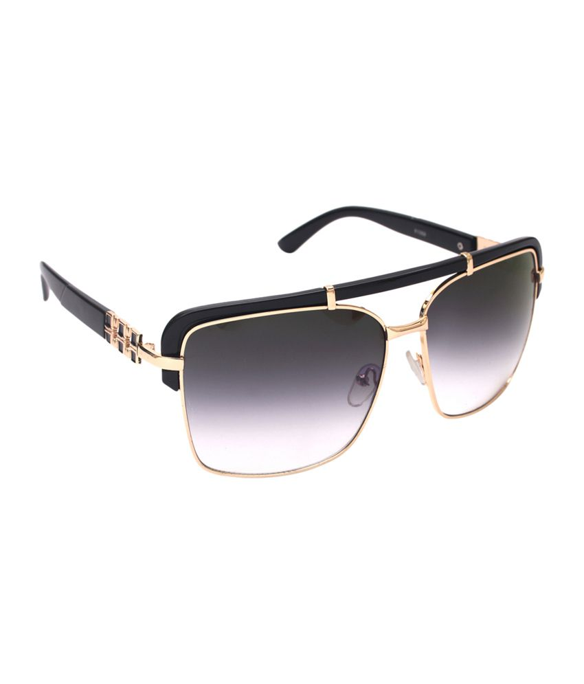 6by6 Gray & Black Oversized Women Sunglasses