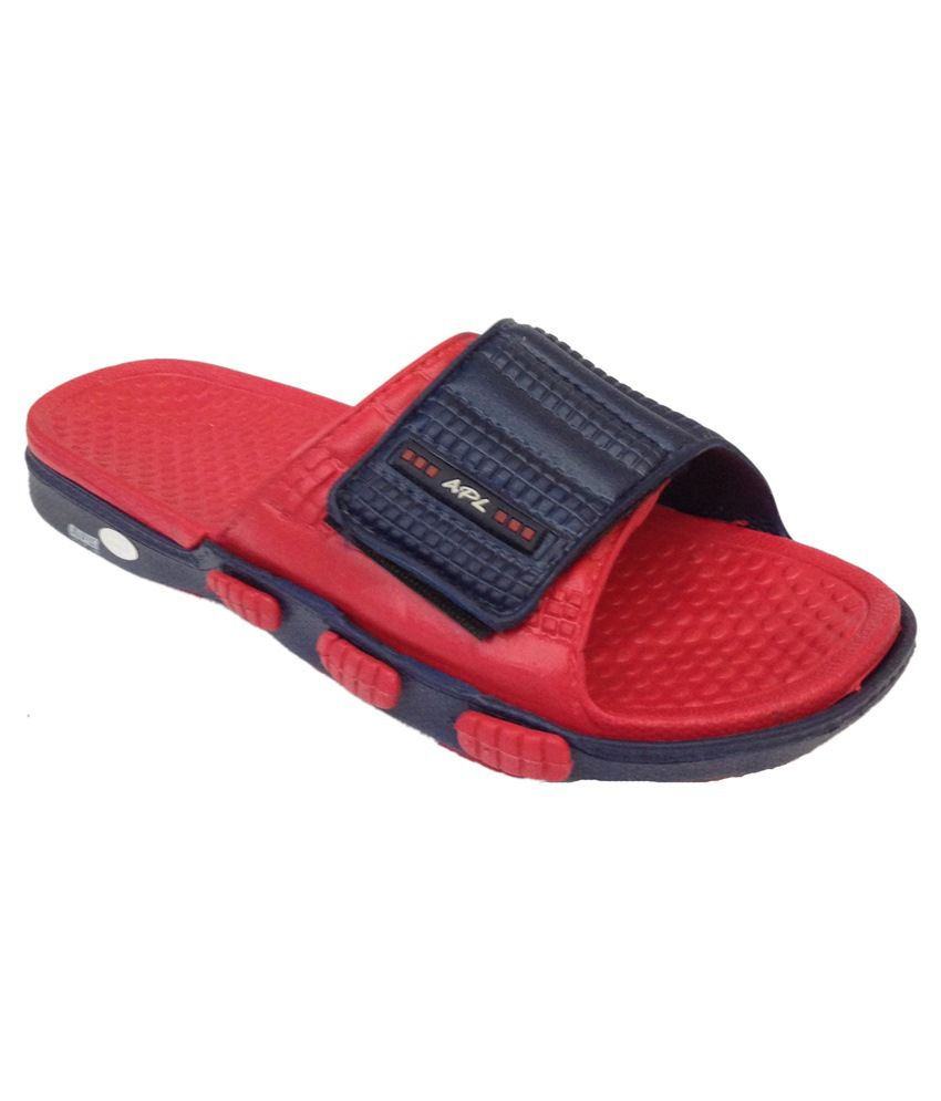 c36cfa56386d APL Red   Blue Slippers Price in India- Buy APL Red   Blue Slippers Online  at Snapdeal