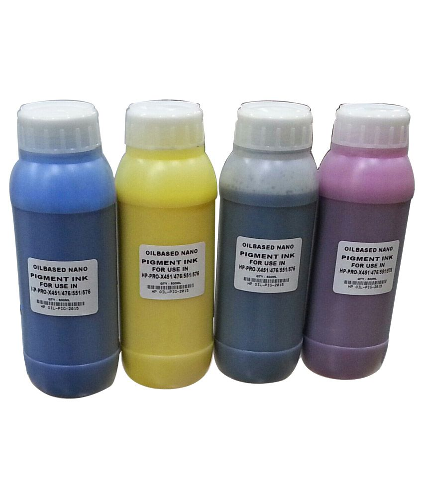 DDS Oil Based Nano Pigment Ink For HP Officejet Pro X451dn - 451dw ...