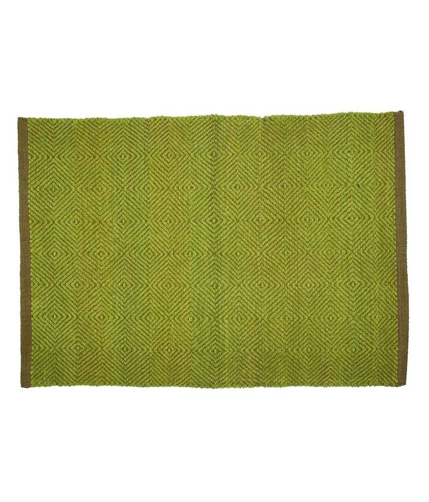 Ivy Green Cotton Rug Best Price In India On 4th June 2019