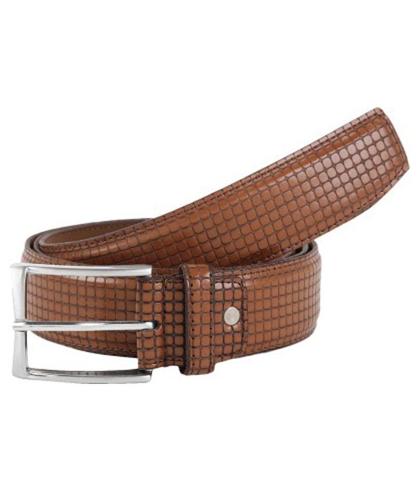 Rigado Brown Leather Formal Belt