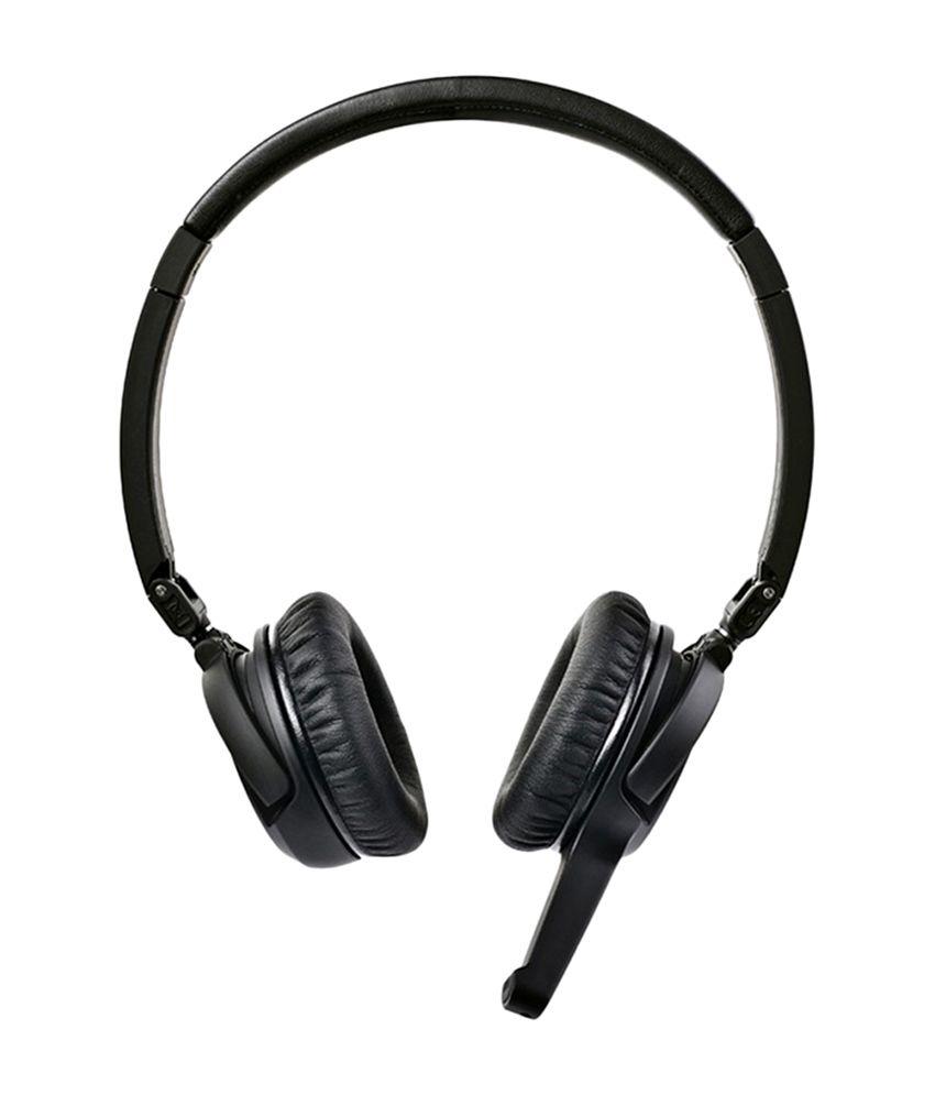 7b12c3de029 SoundMagic BT20 Portable Wireless Bluetooth Headphones- Black - Buy ...