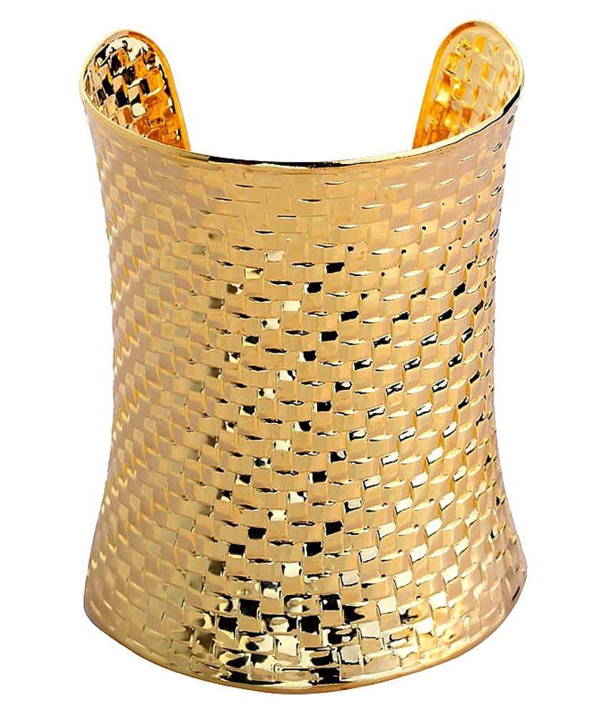 Anvi Jewellers Golden Brass Bangle