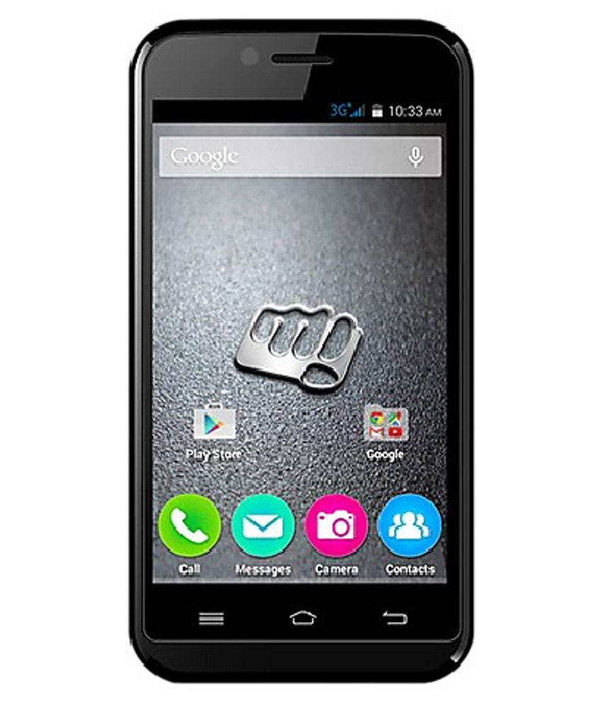 Micromax Bolt S301 (4GB, Black)-(Without Charger&Earphone)